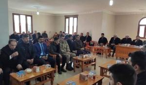 İdil Kaymakamı Ve Belediye Başkan Vekili Zafer Sağ'dan Şehit Ailesine Taziye Ziyareti
