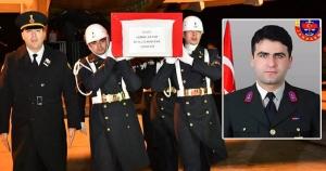 İdil'de Şehit Olan Uzman çavuş Kemal Sayar için mevlit okutuldu