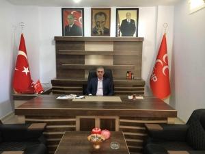 MHP ldil ilçe Başkanı  Abdullah Dalmış'tan 'Tıp Bayramı' mesajı
