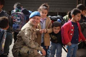 Şırnak'ta Askerden Örnek Davranış