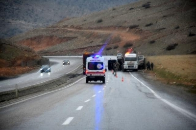 5 aracın karıştığı zincirleme trafik kazasında 6 kişi yaralandı