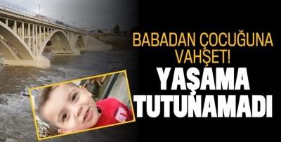 9 yaşındaki oğlunu Dicle Nehri'ne attı! Talihsiz çocuk hayatını kaybetti