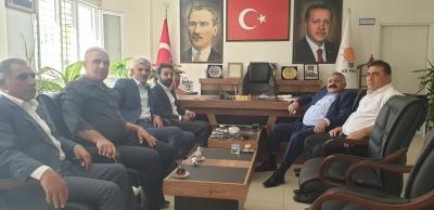 Abdurrahman Abay'dan Başkan Murat AY'a Ziyaret