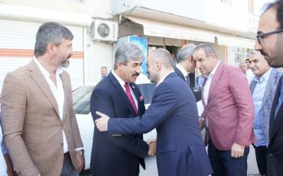 AK Parti Genel Başkan Yardımcısı Erkan Kandemir, idil'de
