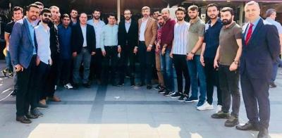 AK Parti İdil  İl Genel Meclis Üyesi Abdurrahim Karatay 23 Haziran istanbul Seçimleri için ev ev, kapı kapı seçmen ziyareti yapıyor.