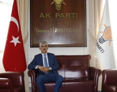 AK Parti idil İlçe Başkanı Murat Ay'dan kurban Bayramı Mesajı