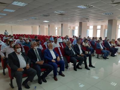 AK Parti idil ilçe Başkanı Murat Ay Kaymakam Refik Özsoya Hayırlı Olsun ziyaretinde Bulundu