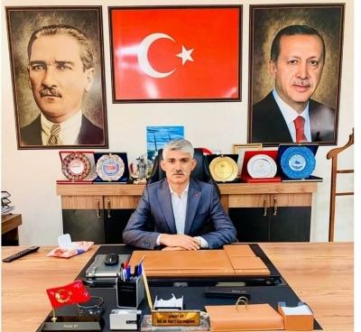 AK Parti İdil ilçe Başkanı Murat Ay'dan Yeni Yıl Mesajı