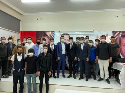 AK Parti idil ilçe Gençlik Kolları Başkanlığına Suat Aşkın Seçildi.