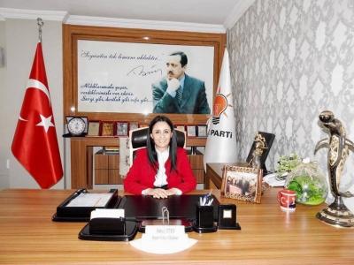 AK Parti Şırnak İl Kadın Kolları Başkanı Hatice Atan'dan Bayram Mesajı