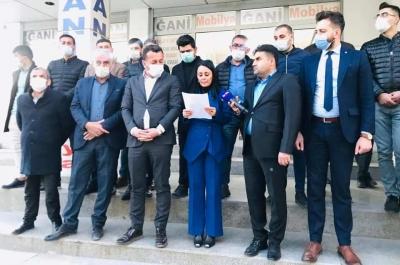 AK Parti Şırnak  İl Teşlikaltından  Başbuğ, Sağlar ve Ataklı hakkında suç duyurusu