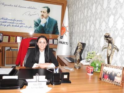 AK Parti Şırnak Kadın Kolları Başkanı Hatice Atan Milletvekili Aday Adayı Oldu