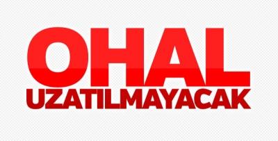 AK Parti Sözcüsü Mahir Ünal: OHAL uzamayacak