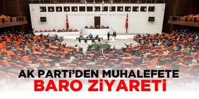 AK Parti'den muhalefete 'barolar düzenlemesi' ziyareti