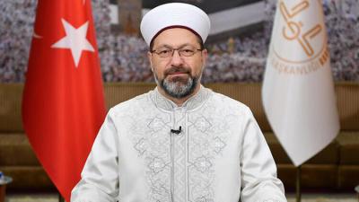 Ali Erbaş: Ayasofya camidir, tepki gösterenler düşünsün