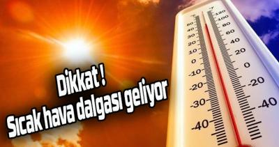 Arap Yarımadası'ndan gelen hava dalgası nedeniyle sıcaklık 5-8 derece yükselecek