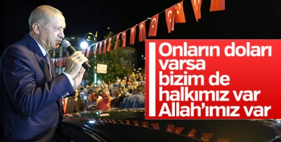 Başkan Erdoğan: Çeşitli kampanyalar yürütüyorlar