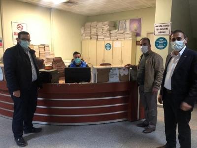 Cizre Devlet Hastanesi İdaresinden Yeni Yıl Ziyareti.