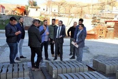 Cizre Kaymakamı Ve Belediye Başkan Vekili Sinanoğlu ilçede yapılan çalışmaları inceledi