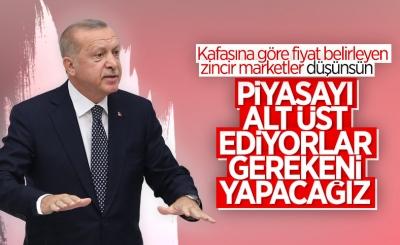 Cumhurbaşkanı Erdoğan: Fahiş fiyat uygulamalarının üzerine gideceğiz