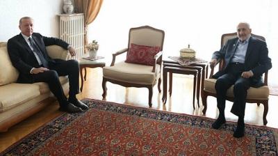 Cumhurbaşkanı Erdoğan'dan Saadet Partili Oğuzhan Asiltürk'e ziyaret