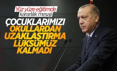 Cumhurbaşkanı Erdoğan'ın 20 bin öğretmeni atama törenindeki konuşması