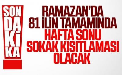 Cumhurbaşkanı Erdoğan: Ramazan ayında hafta sonları evdeyiz