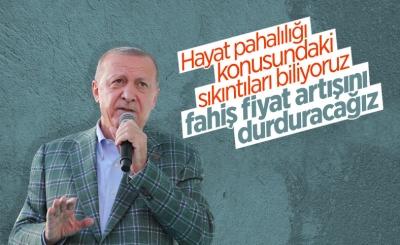 Cumhurbaşkanı Erdoğan, Kırşehir'de esnaf buluşmasında konuştu