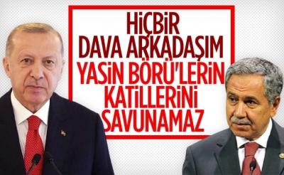 Cumhurbaşkanı Erdoğan'dan Bülent Arınç'ın açıklamalarına tepki