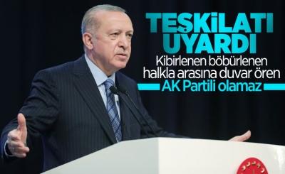Cumhurbaşkanı Erdoğan: Kibirlenmek, Böbürlenmek Bize Yakışmaz