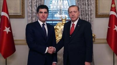 Cumhurbaşkanı Erdoğan'dan Barzani'ye tebrik telefonu