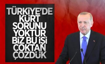 Cumhurbaşkanı Erdoğan'dan Kürt sorunu açıklaması