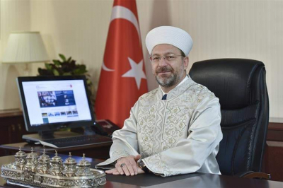 Diyanet İşleri Başkanı Prof. Dr. Ali Erbaş'tan Hicri Yeni Yıl Mesajı