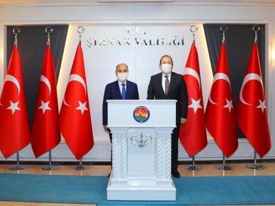 Emniyet Genel Müdürü Mehmet Aktaş, Şırnak'ta incelemelerde bulundu
