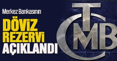 Erdoğan Merkez Bankası'nın döviz rezervini açıkladı