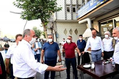 Eski CHP Milletvekili Muharrem İnce'den Şırnak ziyareti.