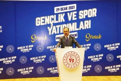 Gençlik ve Spor Bakanı Kasapoğlu Şırnak'ta