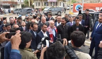 Gıda, Tarım ve Hayvancılık Bakanı Ahmet Eşref Fakıbaba  Şırnak'ta