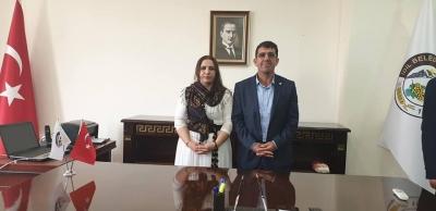 HDP İdil Eş başkanları Songül Erden ve Murat Şen Mazbatalarını Aldı.