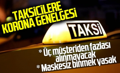 İçişleri Bakanlığı'ndan taksi genelgesi