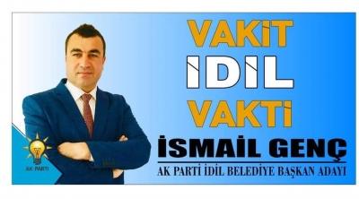 İdil AK Parti Belediye Başkan Adayı ismail  Genç'in Vakıf Açıklaması