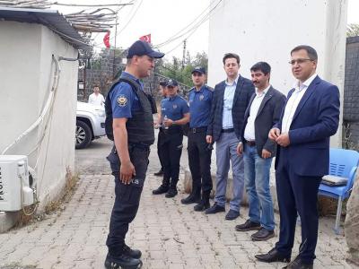 idil Kaymakamı ve Belediye Başkan Vekili Zafer SAĞ, Güvenlik Güçlerinin Ramazan Bayramını tebrik etti.