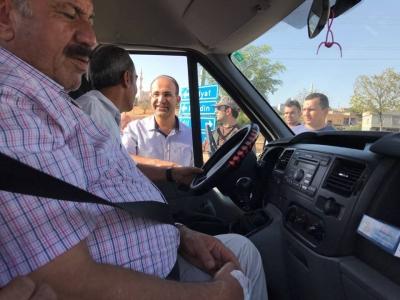 İdil Kaymakamı Ve Belediye Başkan Vekili Ersin Tepeli Halkla Bayramlaştı.