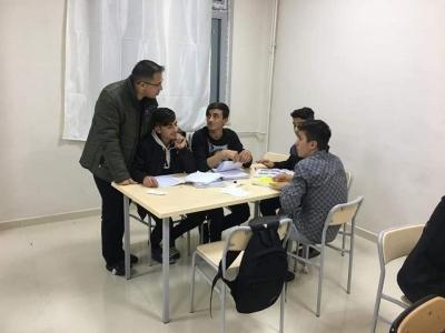 İdil Kaymakamı Ve Belediye Başkan Vekili Zafer Sağ, Öğrencilerle Bir Araya Geldi