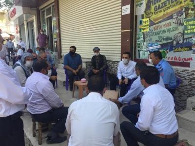 İdil Kaymakamı Ve Belediye Başkan Vekili Refik Özsoy  Vatandaşlarla Bir Araya Geldi