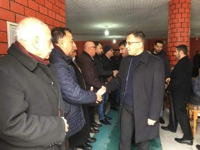 idil Kaymakamı Ve Belediye Başkan Vekili Zafer SAĞ, Arslan Ailesine Taziye Ziyaretinde Bulundu.