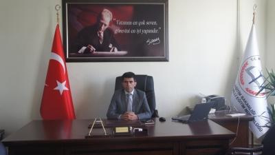 İdil Milli Eğitim Müdürümüz Mehmet Şirin Arslan'dan 23 Nisan kutlama mesajı