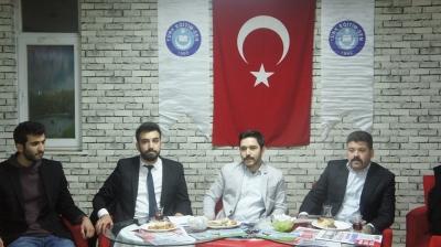 İdil Türk Eğitim-Sen'de Bayrak Değişimi