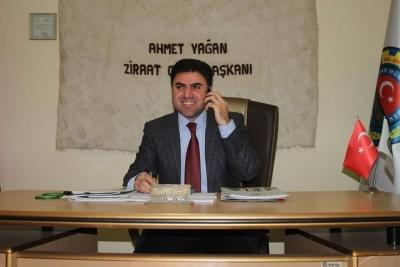 İdil Ziraat Odası Başkanı Ahmet Yağan ,14 Mayıs Dünya Çifçiler Günü Mesajı