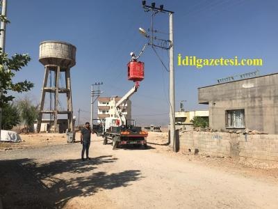 İdil'de DEDAŞ Tarafından Kesilen Su Pompalarının Enerjileri verildi.